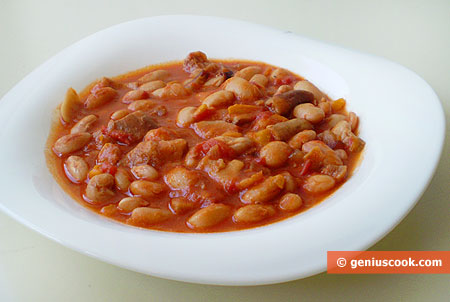 Kidney Beans with Mushrooms