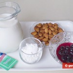 Ingredients for Milk Jelly or kissels
