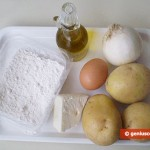 Ingredients for Potato Vareniki