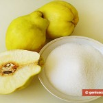 Ingredients for Quince Marmalade