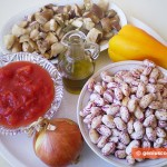 Ingredient for Kidney Beans with Mushrooms