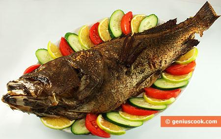 Baked Sea Perch