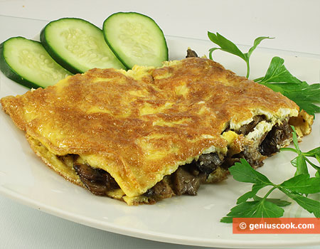 Omelet with Mushrooms Recipe