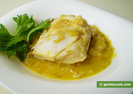 Stewed Cod in Ginger Sauce