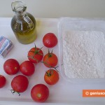 Ingredients for Focaccia with Tomatoes