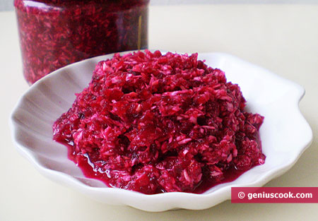 Horse Radish with Beetroot