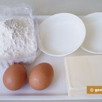 Ingredients for Shortcrust Baskets
