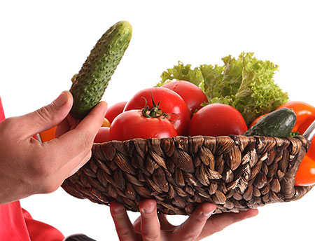 A Vegetarian Diet with Best Nourishment
