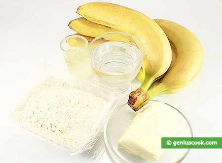 Ingredients for Crunchy Bananas