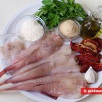 Ingredients for Monkfish with Cheese Crust