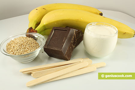 Ingredients for Bananas in Chocolate