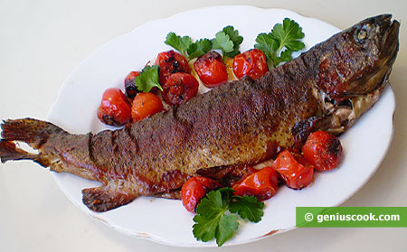Fried Trout with Herbs