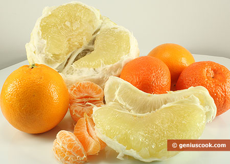 Ingredients for Citrus Salad