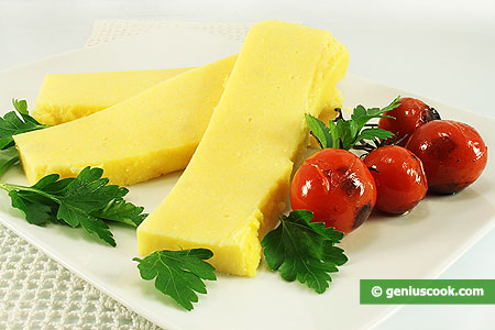 The Four Cheese Polenta