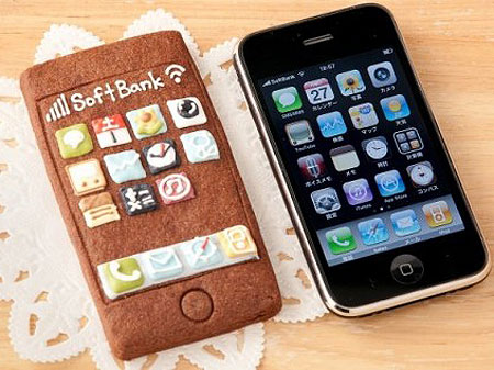 An iPhone That Can Be Eaten