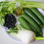 Ingredients for Zucchini with Fennel