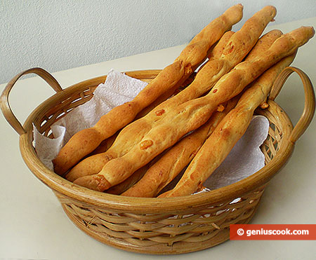 Cheese Sticks Grissini