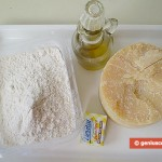 Ingredients for Cheese Sticks