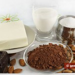Ingredients for Chocolate and Nut Butter