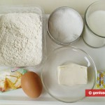 Ingredients for Challah