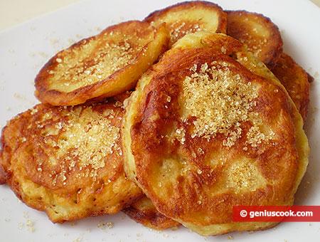 Jamaican Banana Pancakes