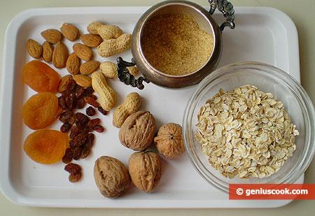 Ingredients for Muesli