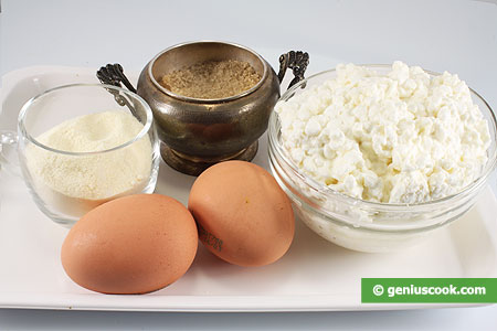 Ingredients for Cheese Fritters