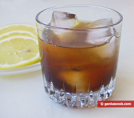 Russian Black Cocktail