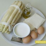 Ingredients for White Asparagus with Egg