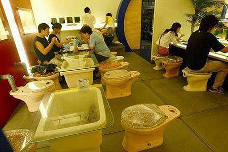 Restaurant-Toilet