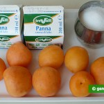 Ingredients for Apricot Parfait