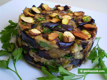 Eggplant Salad with Pistachios