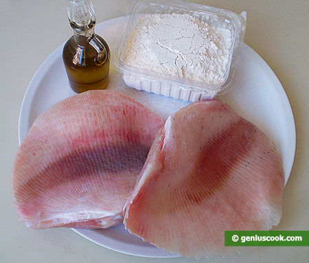 Ingredients for Fry Skate