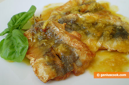 Sardines with Orange and Ginger Sauce