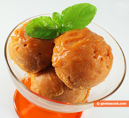 Apricot Sorbet Recipe — Dishmaps