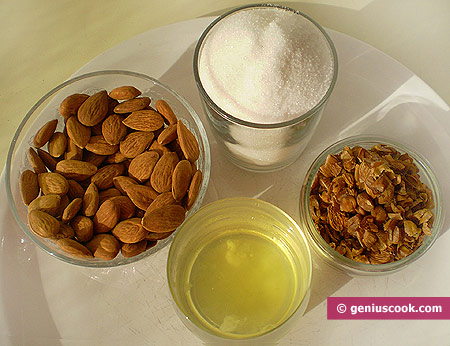 Ingredients for Amaretti Cookies