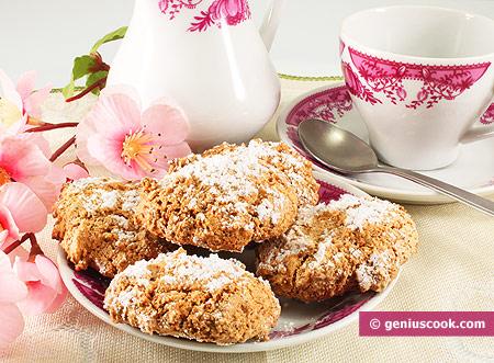 Almond cookies Amaretti