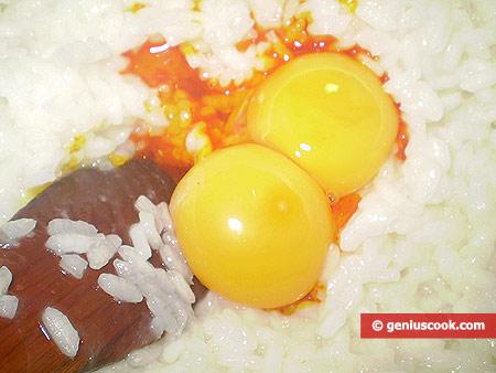 Add yolks