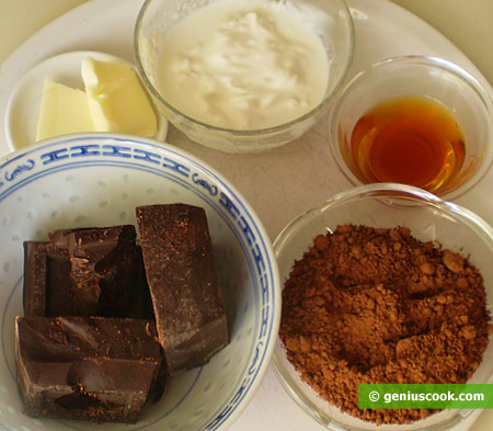 Ingredients for Chocolate Truffle