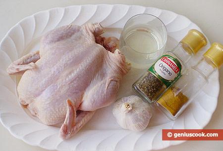Ingredient for Grilled Chicken
