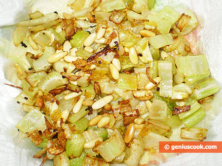 celery and pignoli