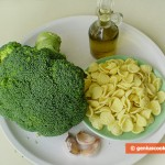 Ingredients for Orecchiette with Broccoli