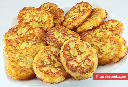 Potato Fritters with Cheese