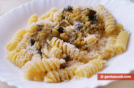 Fusilli with Zucchini Sauce