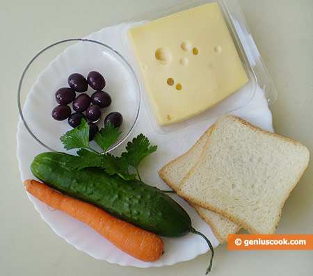 Ingredients for Merry Toasts