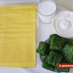 Ingredients for Bauletti with Ricotta and Spinach