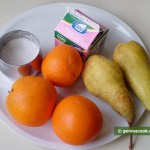 Ingredients for Pear and Orange Salad