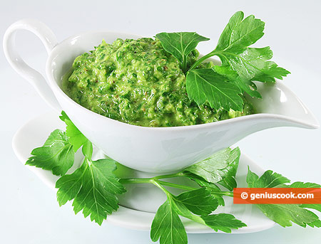 The Chimichurri Sauce from Argentina