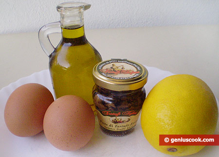 Ingredients for Truffle Mayonnaise