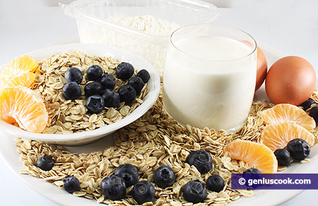 Ingredients for Oat Pancakes